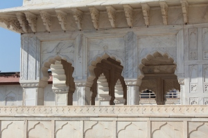 Part of Shah Jahan's addition to the Fort: he was obsessed with white marble, obvs.