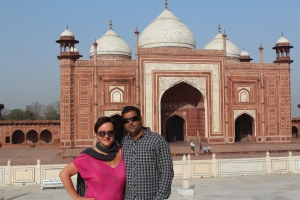 Me with 'Raj at the Taj' discussing Tom Cruise's good points.  A short conversation.