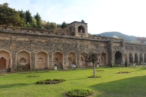 Pari Mahal: a gorgeous old Mughal fort high up on the mountainside.