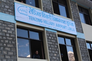 Tenzing-Hillary (Lukla) Airport.  I'm pleased Tenzing's name is first.